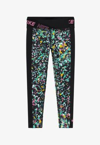Nike Performance - ONE - Leggings - black/magic flamingo - 2