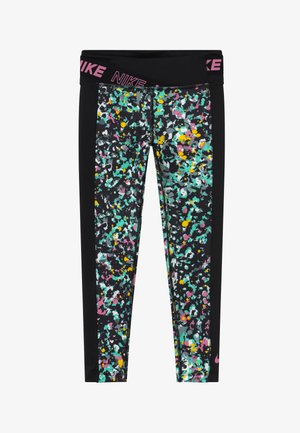 ONE - Legginsy - black/magic flamingo