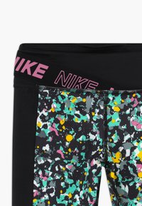 Nike Performance - ONE - Leggings - black/magic flamingo - 3