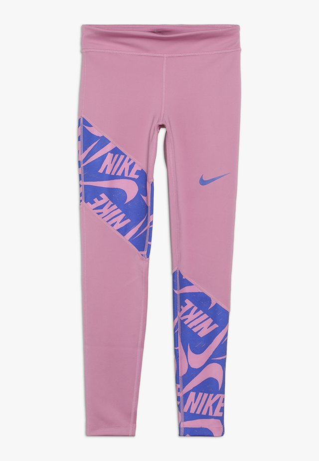 TROPHY - Legging - magic flamingo/hyper blue
