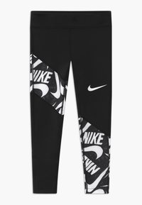 Nike Performance - TROPHY - Leggings - black/white - 0