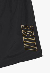 Nike Performance - DRY ACADEMY SHORT - Sports shorts - black/jersey gold - 3