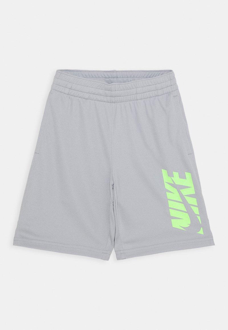 Nike Performance - Pantaloncini sportivi - light smoke grey/ghost green