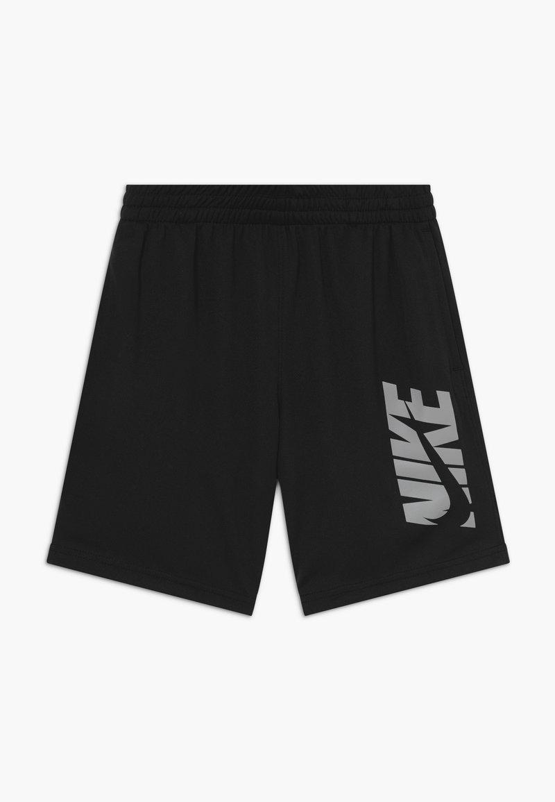 Nike Performance - Sportovní kraťasy - black/smoke grey