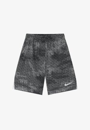 DRY SHORT - Sports shorts - black/white