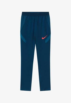 DRY STRIKE PANT - Trainingsbroek - valerian blue/laser crimson