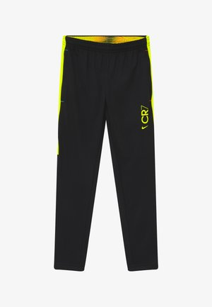 DRY - Trainingsbroek - black/lemon