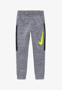 Nike Performance - THERMA - Träningsbyxor - smoke grey/black/lemon - 2