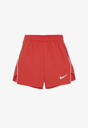 SHORT - Sports shorts - track red/white
