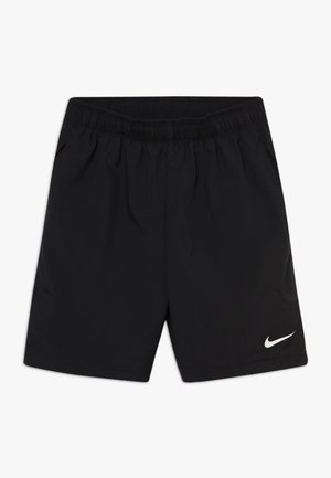 WOVEN SHORT - Sports shorts - black/white