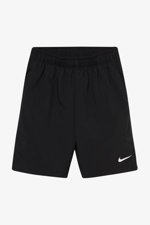 WOVEN SHORT - Korte broeken - black/white