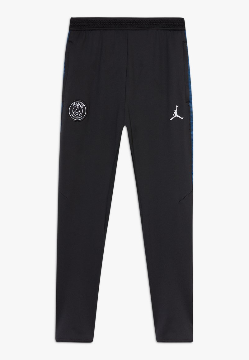 Nike Performance - PARIS ST GERMAIN DRY  - Tracksuit bottoms - black/hyper cobalt/white