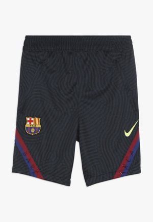 FC BARCELONA DRY SHORT - Sports shorts - dark obsidian/sonic yellow