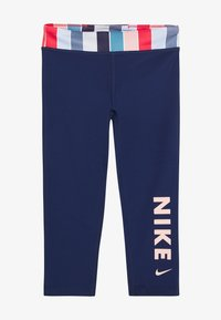 Nike Performance - Collant - blue void/track red/washed coral - 2