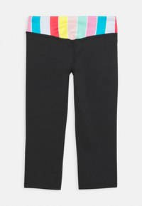 Nike Performance - Leggings - black/white/track red - 1