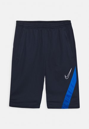 DRY ACADEMY SHORT - Sports shorts - obsidian/soar/white