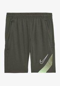 Nike Performance - DRY ACADEMY SHORT - Korte sportsbukser - cargo khaki/thermal green/white - 2