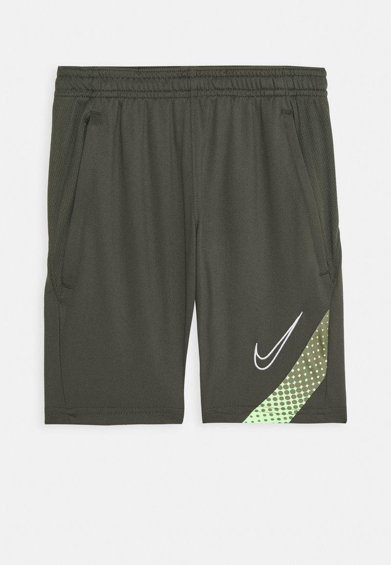 Nike Performance - DRY ACADEMY SHORT - Korte sportsbukser - cargo khaki/thermal green/white