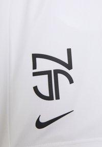 Nike Performance - NEYMAR DRY SHORT - Sportovní kraťasy - white/black - 2
