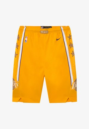 NBA LOS ANGELES LAKERS BOYS CITY EDITION SWINGMAN SHORT - Urheilushortsit - amarillo