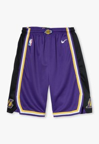 Nike Performance - NBA LOS ANGELES LAKERS STATEMENT SWINGMAN  - Pantalón corto de deporte - court purple - 0