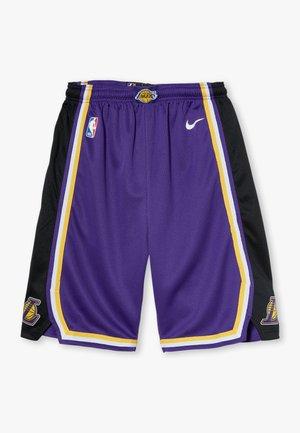 NBA LOS ANGELES LAKERS STATEMENT SWINGMAN  - Pantaloncini sportivi - court purple