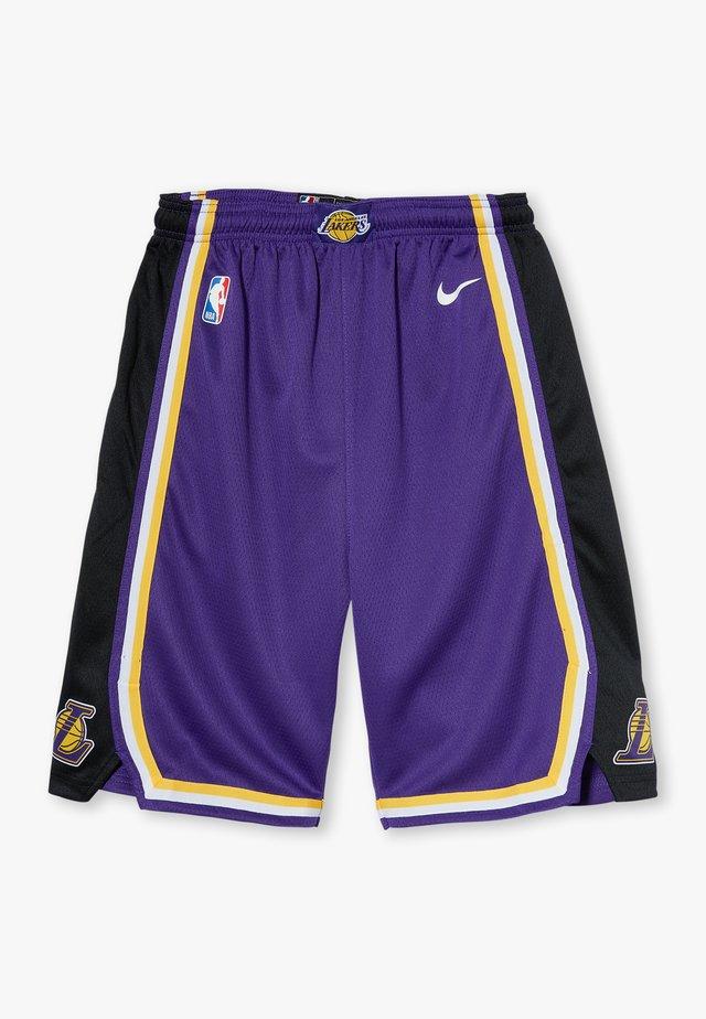 NBA LOS ANGELES LAKERS STATEMENT SWINGMAN  - Korte broeken - court purple