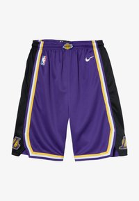 Nike Performance - NBA LOS ANGELES LAKERS STATEMENT SWINGMAN  - Pantalón corto de deporte - court purple - 3