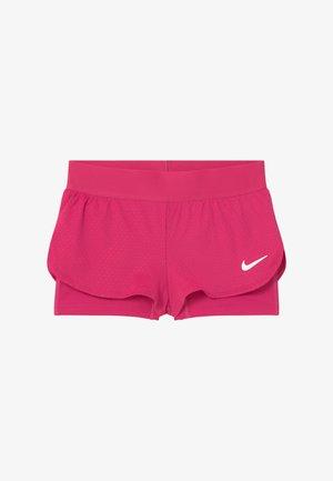 SHORT 2-IN-1 - Short de sport - vivid pink/white
