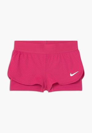 SHORT 2-IN-1 - Urheilushortsit - vivid pink/white