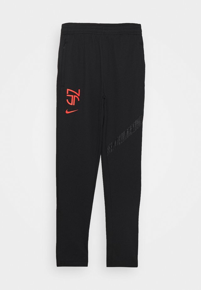 NEYMAR DRY PANT - Trainingsbroek - black/bright crimson
