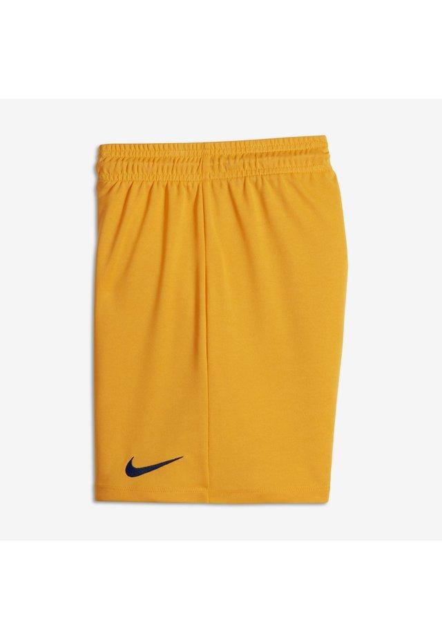 OLDER KIDS' - Sports shorts - university gold/black