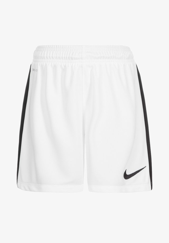 LEAGUE - Sports shorts - white / black