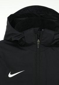 Nike Performance - Hardshell-jakke - black/black/white - 4