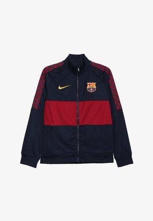 FC BARCELONA Y  - Trainingsjacke - obsidian/noble red/university gold