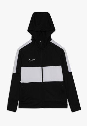 DRY ACADEMY - Training jacket - black/white