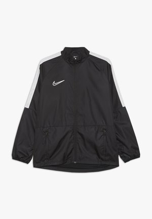 Training jacket - black/white/reflective silver