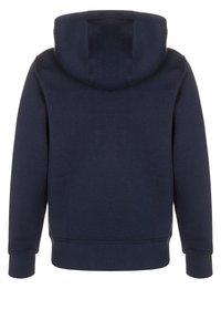 Nike Performance - FULL ZIP - Zip-up hoodie - obsidian/white - 1