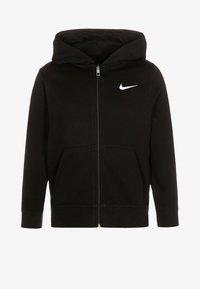 Nike Performance - FULL ZIP - Huvtröja med dragkedja - black/white - 0