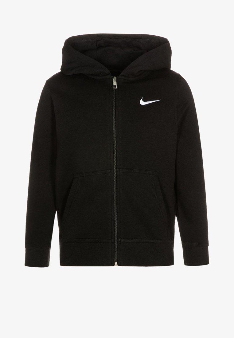 Nike Performance - FULL ZIP - Huvtröja med dragkedja - black/white
