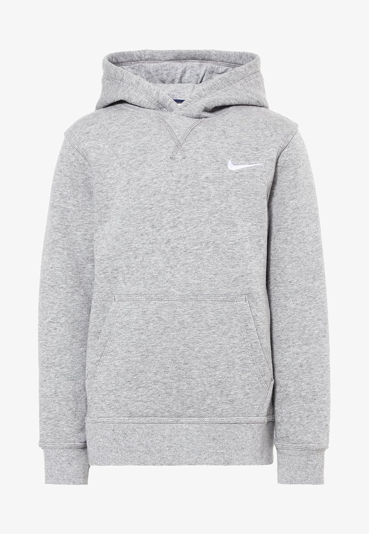 Nike Performance - Hoodie - dk grey heather/white