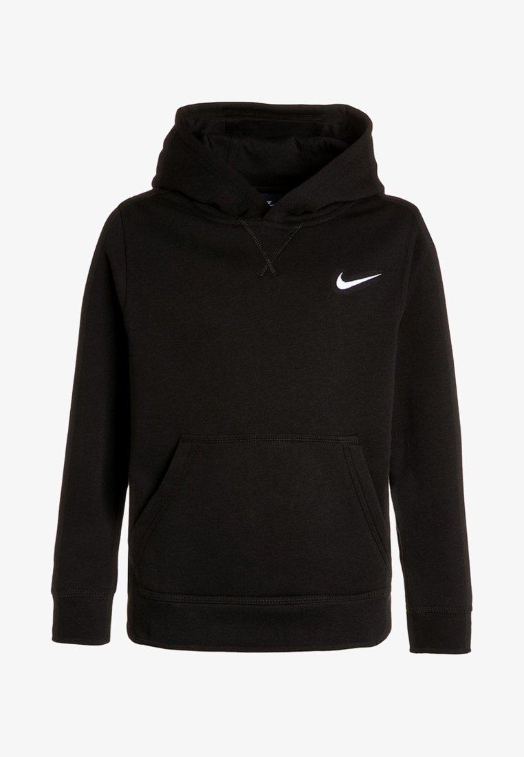Nike Performance - Bluza z kapturem - black/white