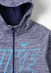 Nike Performance - THERMA HOODIE - Sweatjacke - game royal/blue hero/blue hero