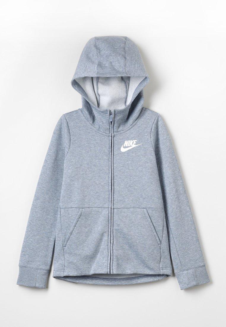 Nike Performance - HOODIE  - Sweatjacke - ashen slate/white