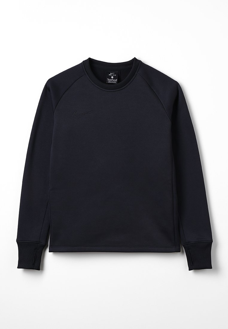 Nike Performance - THERMA ACADEMY CREW - Fleecepullover - black