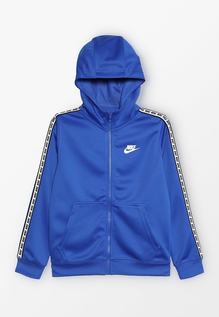 Nike Performance - REPEAT HOOD - Sweatjacke - game royal/white
