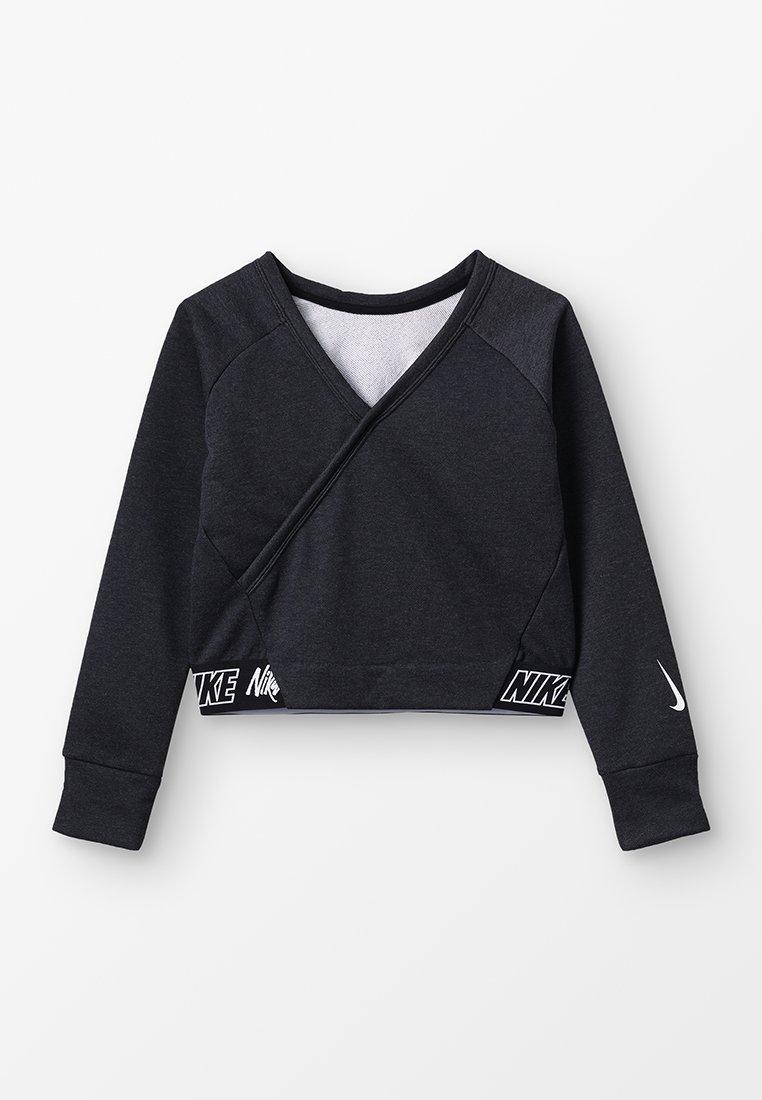 Nike Performance - STUDIO REVERSIBLE - Sweater - black/heather/white