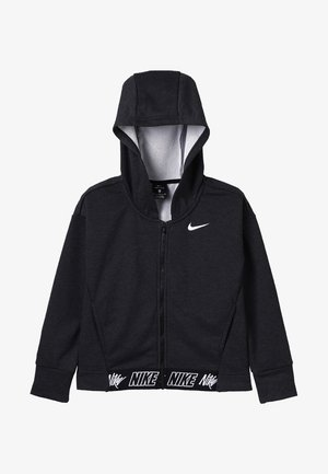 STUDIO - Zip-up hoodie - black/heather/black/white