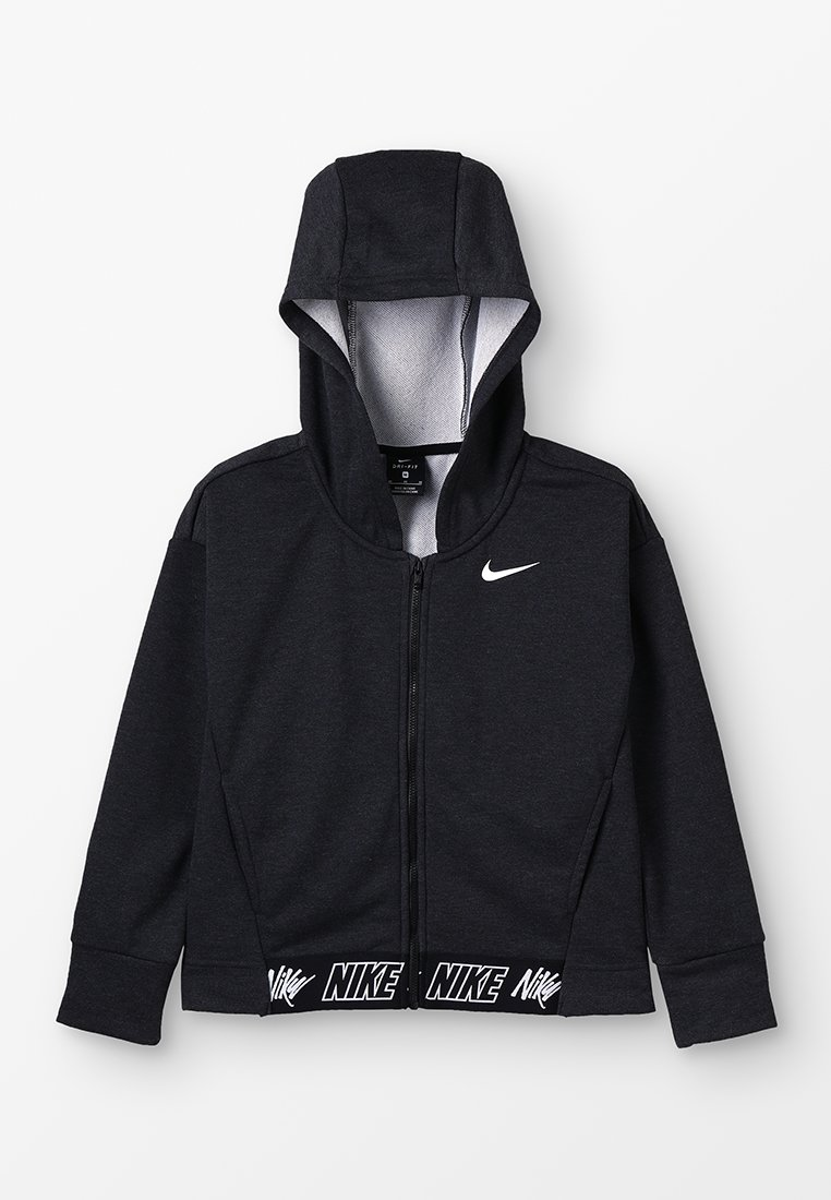 Nike Performance - HOODIE STUDIO - Hoodie met rits - black/heather/black/white