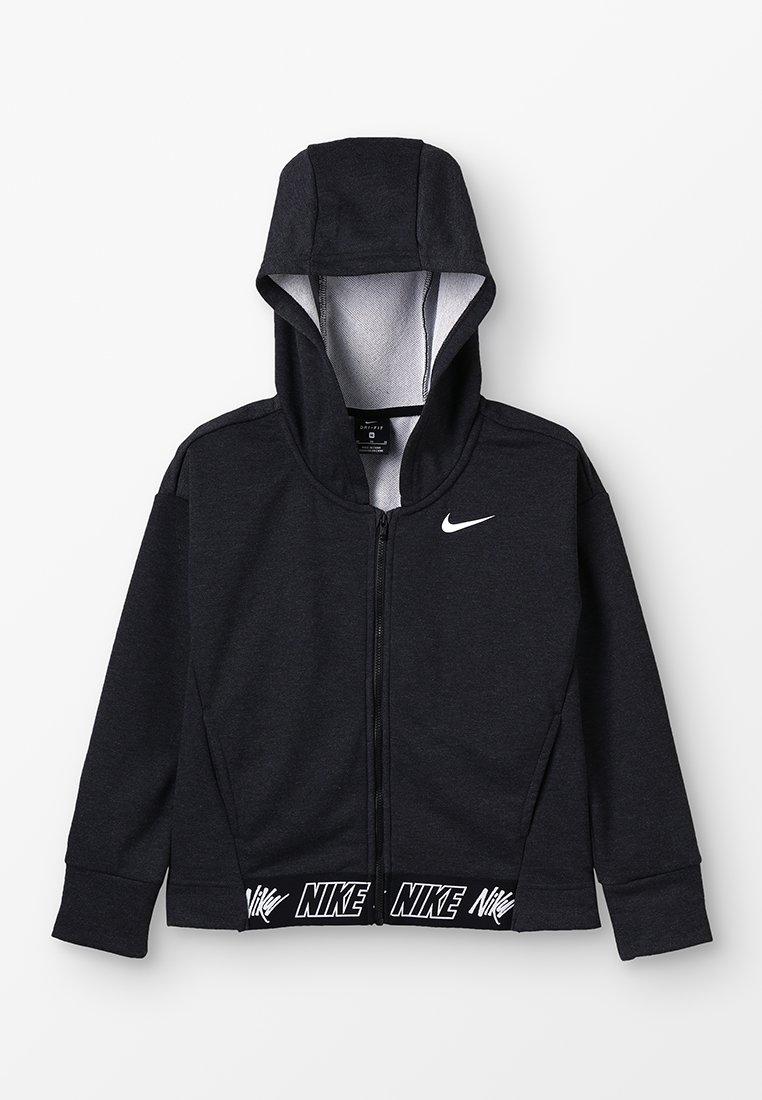 Nike Performance - HOODIE STUDIO - veste en sweat zippée - black/heather/black/white